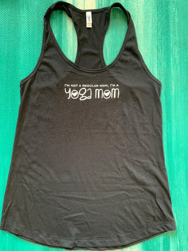 Yoga Mom Yoga Tank Graphic tee