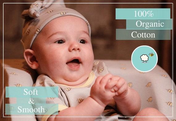 BeeCotton Baby Girl 100/% Organic Cotton Bee Bloomers