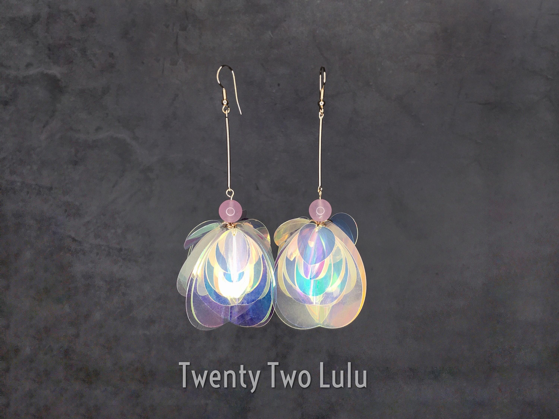 festival quadrat Minimalistic earings festivaloutfit silver-coloured earings statement earings earing