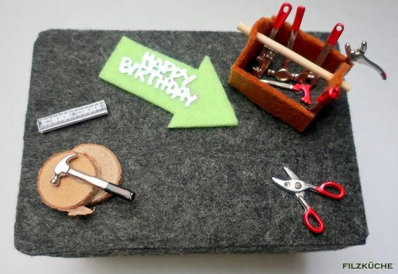 Geldgeschenk Verpacken Werkzeug Baumarkt Handwerk Etsy