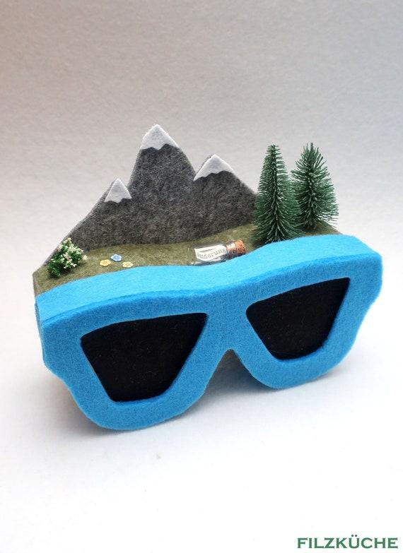 Wandern Berge Geldgeschenk Geschenke verpacken Box