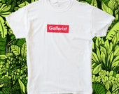 Gallerist, T-shirt, scree...