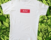 Artist, T-shirt, screenpr...