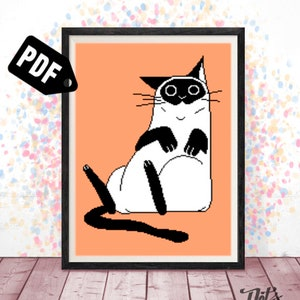 Cross stitch pattern for beginners pdf Instant Download Silhouette Cartoon PT-390 Embroidery Needlepoint Kits bear piglet