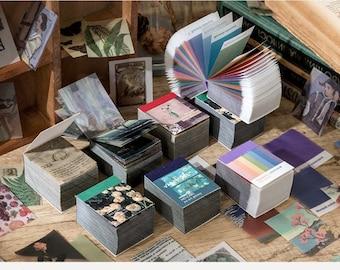 366pcs junk journal kit,junk journal, journal ephemera, scrapbook paper,vintage journal  Parchment mixed paper, INS style, vintage papars