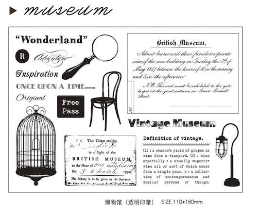 rubber stamp set stamp set rubber stamps rubber stamp vintage|Background stamps Sheet Table stamps Form Clear stamps