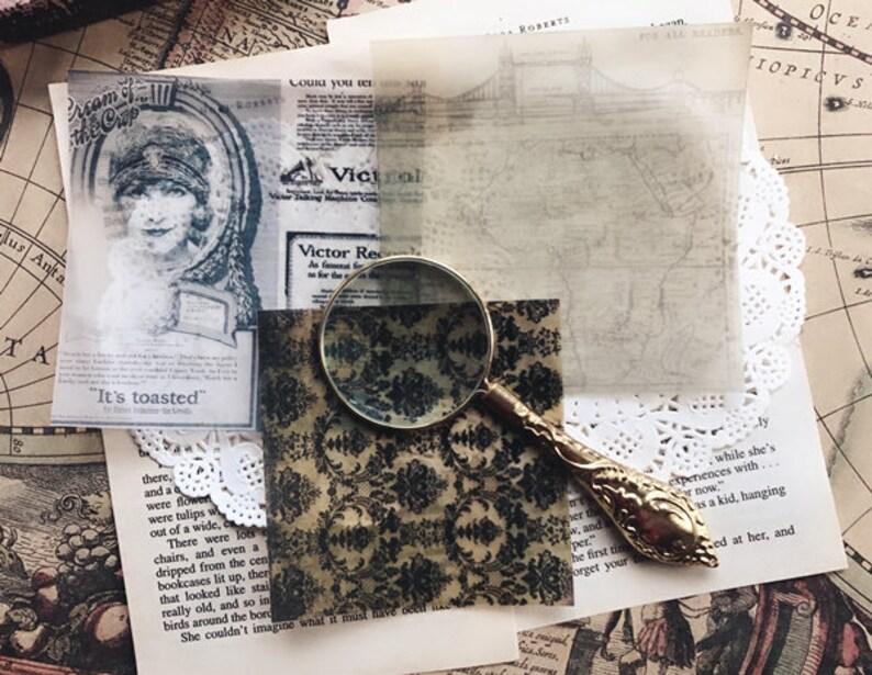 scrapbook paper sticker pack,junk journal scrapbook kit,vintage journal 22pcspack junk journal kit journal ephemera