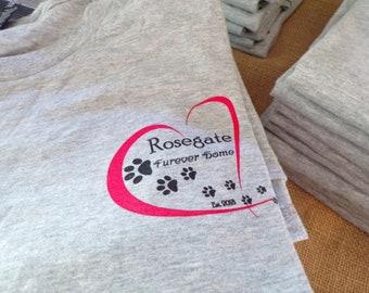 NEW Rosegate T-shirts Size: Medium, Large and XLarge Fund goes to Rosegate 501(c)3