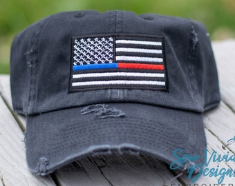 Thin Red Line Heart Flag Firefighter Wife Outdoor Snapback Sandwich Cap Adjustable Baseball Hat Dad Hat