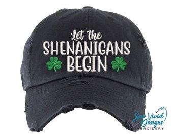 St Patrick/'s Day Hat | Irish Distressed Trucker Hat St Patty/'s Day Hat Shamrock Hat