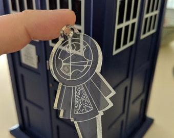 Personalised TARDIS Key