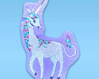 Embroidery application Unicorn