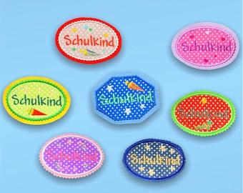 "Patch ""School Child"" (stick application)"