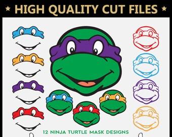Ninja Turtles Svg Etsy