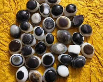 Agate Shiva Eye Stones Third Eye Agate  hold the ability to open your third eye ACTIVATING INNER STRENGTH Shiva Eyes