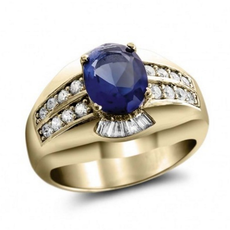 Blue Gemstone Ring,AAA Blue Gemstone Ring,Vintage Ring,Natural Gemstone ring,Handmade Jewelry,Statement ring,Midi ring,Personalized ring