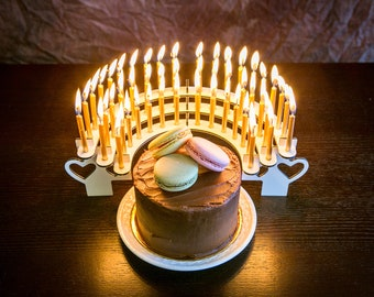 Birthday Party Candle Holder