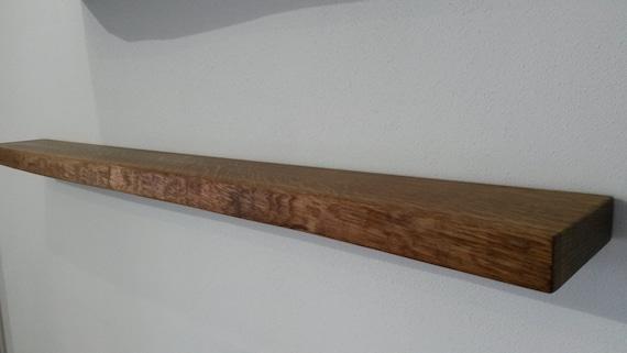 Regalbrett Wandboard Eiche Massiv 120x13 15x4cm Etsy
