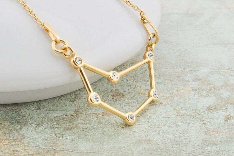 1d671ac1aff5 Joyas del zodiaco del collar de la astrología de Capricornio
