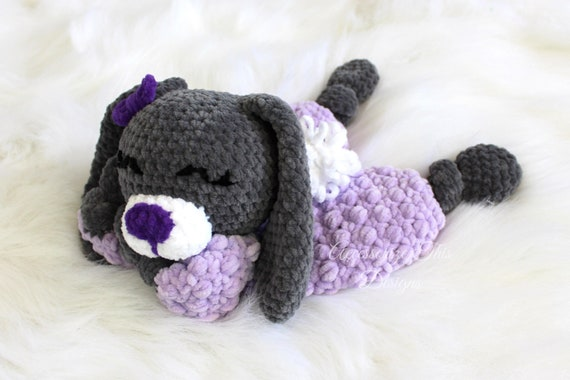 Ragdoll Inspired Love Bunny Crochet Pattern FREE - Falling Spring ... | 380x570