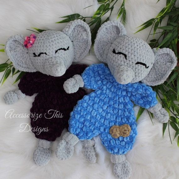 Elephant Ragdoll Amigurumi Free Crochet Pattern in 2020 (With ... | 570x570
