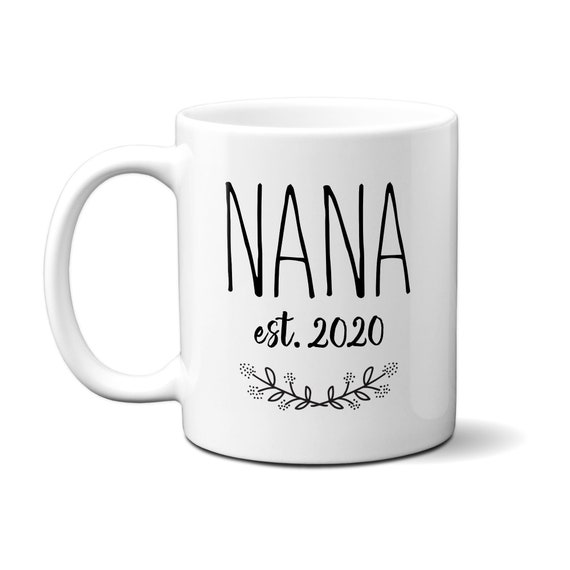 Nanas Brew and Biscuits Printed Mug