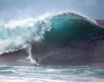 Pipeline Surf Photo Etsy