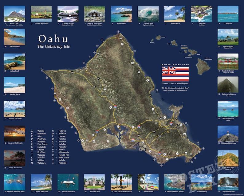 Oahu Map Print, Map of Oahu, Hawaii Photo, Hawaii Photography, Hawaii Kahala Oahu Map on north shore oahu map, kakaako oahu map, kilauea oahu map, nuuanu oahu map, bellows beach oahu map, kailua oahu map, koolau range oahu map, kahana bay oahu map, kaanapali oahu map, chinatown oahu map, waikiki beach oahu map, tantalus oahu map, sea life park oahu map, waiahole oahu map, kapiolani oahu map, papakolea oahu map, kapahulu oahu map, maui oahu map, kawela bay oahu map, sandy beach oahu map,