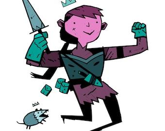 Custom Art / RPG Character Design
