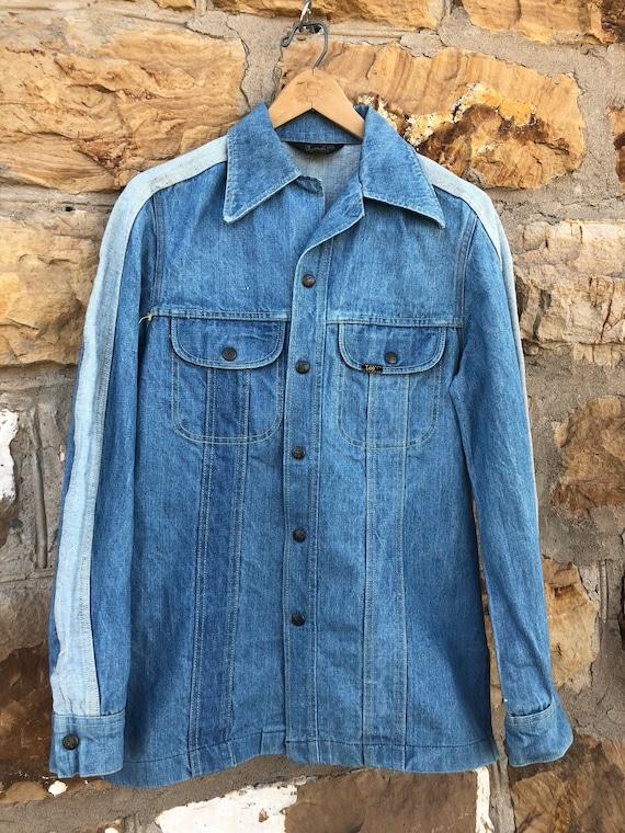 1970s Lee Two Tone Denim Jacket