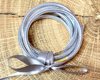 GLITTER Jelly Bracelets 10 colors