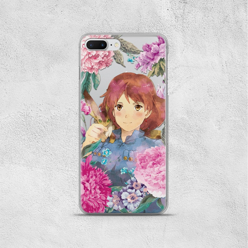 Anime Phone Case Inspired by Nausicaa and Teto Of The Valley Of The Wind  Studio Ghibli iPhone 10s 10 s Xs Max Xr r 8 7 6s 6 Plus X SE Cover