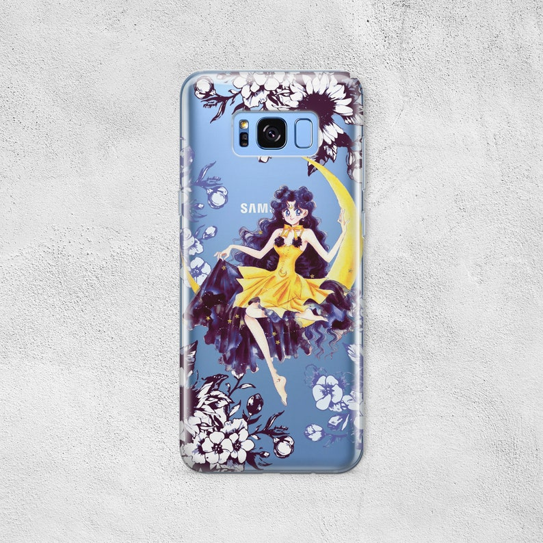 Human Luna Anime for Samsung A50 M20 A30 M10 A6 A8 A7 A9 J8 2018 Case  Galaxy S10e S10 S9 S8 Plus S7 S6 Edge Note 9 8 Sailor Moon Phone Cover