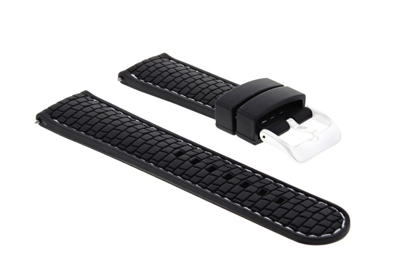 a61653d9c96 New 24mm Rubber Strap Band Fit Gucci Watch Black Ws 4R