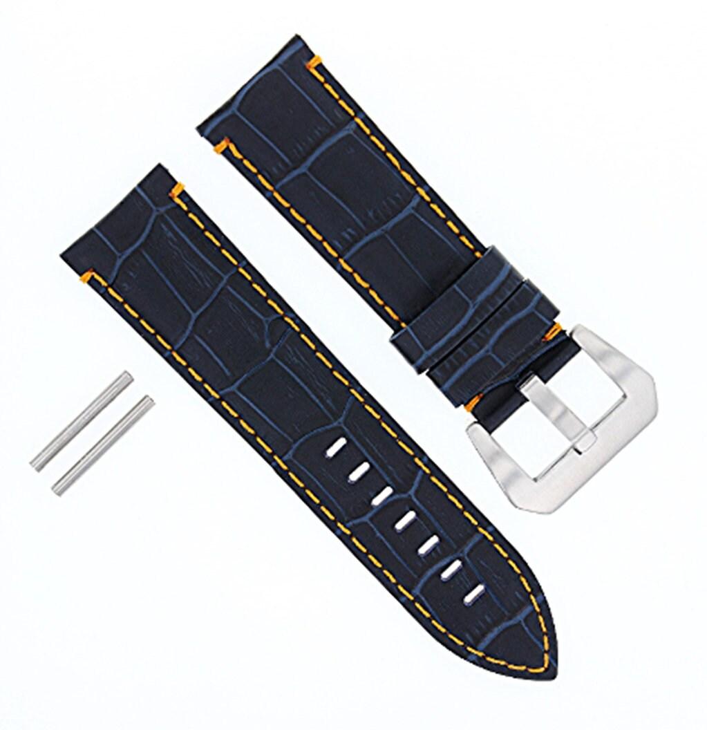 8 CUSTOM SPRING BAR PIN FOR 24MM STRAP FOR PANERAI 44MM PAM MARINA LUMINOR  BAND