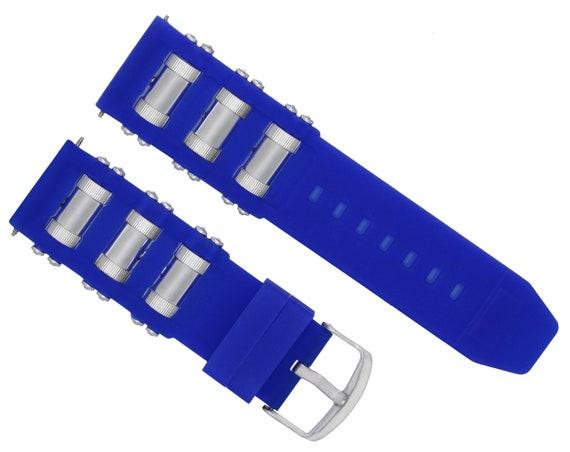 fc75cc5cab8 26mm Silicone Rubber Diver Watch Band Strap For Invicta