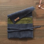 Suede Handmade Watch Roll/Pouch