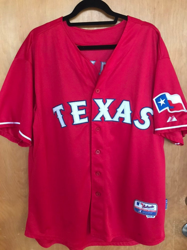 super popular c7c68 bbb04 Texas Rangers Josh Hamilton Baseball Jersey