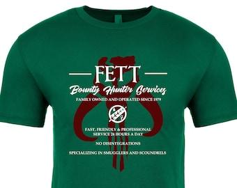 Disney Shirt - Star Wars Shirt - Mandalorian Shirt - Boba Fett - Jango Fett - Bounty Hunter - softstyle shirt -Disney Vacation