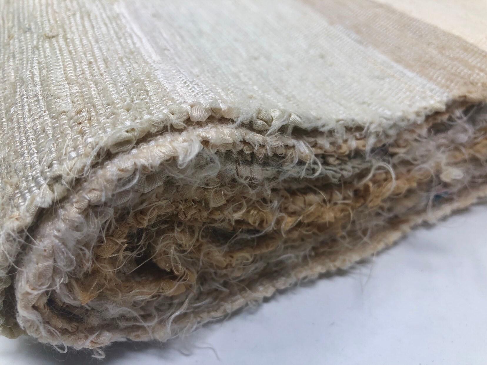 Blanc à base de tissu de boro boro boro Sakiori(rag weaving) Long ad5e52