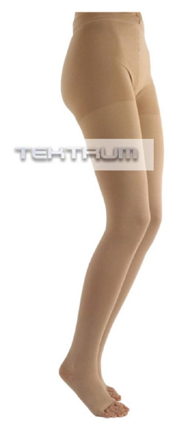 c40f9c0f68d Tektrum Waist High Firm Graduated Compression Pantyhose