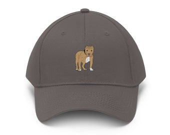 e5da3aca1dd Pitbull Embroidered Unisex Twill Hat