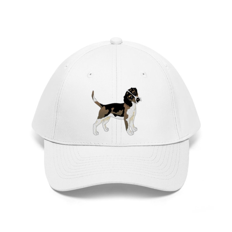 Beagle Embroidery Embroidered Beanie Skully Hat Cap