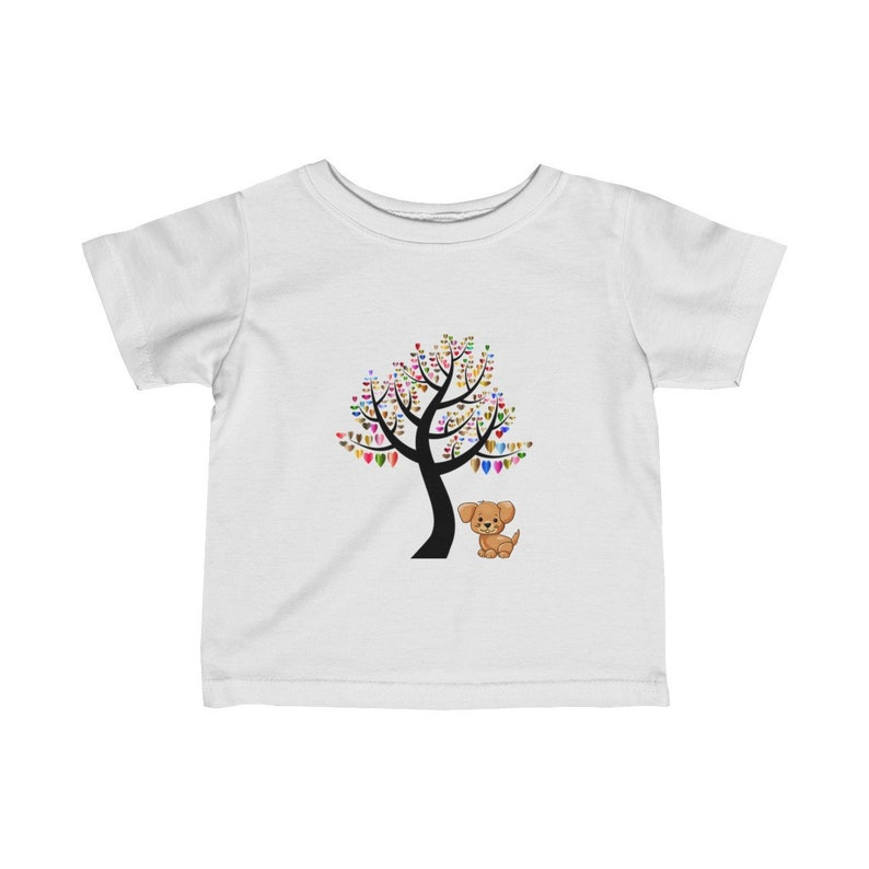 Toddler Outfit Gift Baby Shower Gift Cute Dog Shirt Dog Infant Baby Tshirt Unisex Infant Clothes Dog Lovers T-shirt Infant Shirt