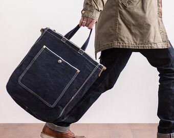 b66b7d758eb5 Denim laptop bag | Etsy