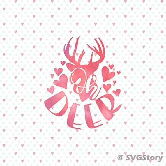 Oh Deer Svg Cut File Baby Girl Svg Little Deer Svg Doe Svg Etsy