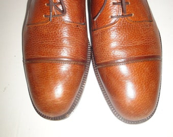 ebd21942e1 Bata Brown Leather Oxford Men s Shoe Size 9M