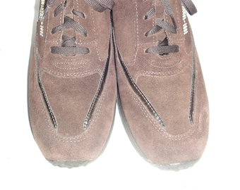 03abd92689 Bata Air System Chocolate Brown Suede Leather Bedazzled Sneaker Men s Shoe  Size 10M