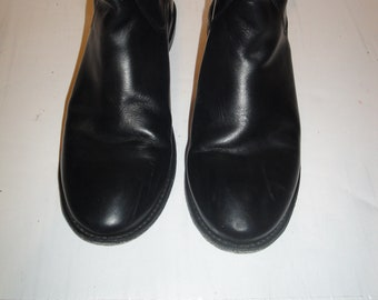 Frye Black Leather Riding Boots Womens Shoe Size 8.5M