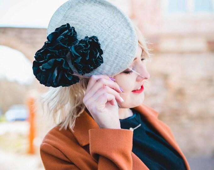 Royal Ascot fascinator hat wedding headpiece